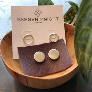 Jewelry - 🔴NWOT Sterling Silver Solid Circle Post Earrings